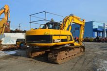 Used JS220LC JCB tra