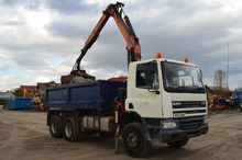 6x4 dump truck DAF CF75.310