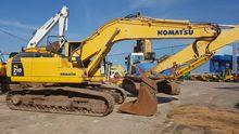 Komatsu tracked excavator PC210
