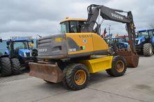 Wheel excavator Volvo EW140