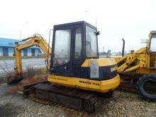 Komatsu PC50 tracked excavator