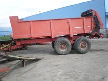 Manure spreader Gilberti