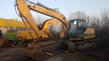 Used Tracked excavat