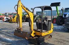 JCB mini excavator, rubber trac