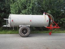 Bauer 4500 liter farmer barrel