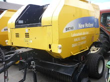 2007 New holland BR 740 A