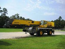 2012 GROVE CRANES RT600E T3