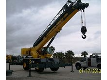 2013 GROVE CRANES RT600E T3