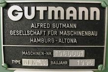 1996 GUTMANN MLK1000 1113-6021