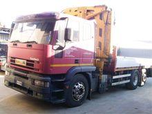 Iveco EUROTEK 240E42 Truck Cran