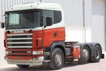 Scania P420, 6x2 Tractor unit