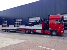 2000 DAF XF 105.510 Truck Crane