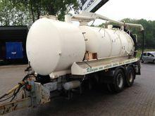 sanitation trailer Tank