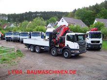 Used Scania R420 8x4