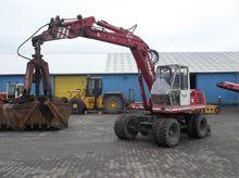 O & K MH4 Wheeled Excavator