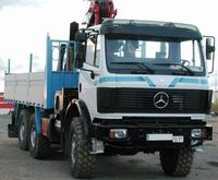 Mercedes Benz 2635 SK 6X6 Truck