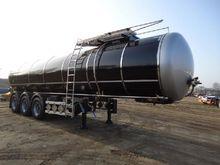 Lag Bitumen tank semi-tr