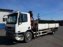 DAF CF 65 with crane Truck