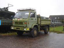1991 MAN 8.136 bakwagen Army tr