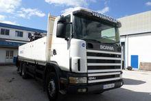 1998 Scania 124 - 400 6X4 CRANE