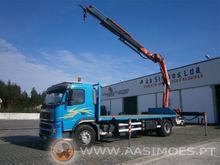 Volvo FM12 380 with crane Truck
