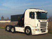 2005 Scania R480 6x2 Boom tract