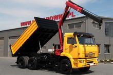 3 SIDED TIPPER KAMAZ Truck Cran