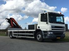 2009 DAF CF65.250 Lorry with cr