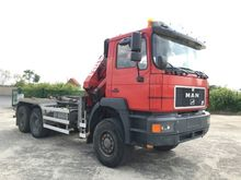 MAN 33.343 6X6 Truck Crane
