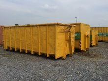 40 m3 geel open top Dry General