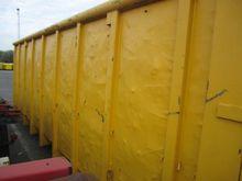 20 m3 geel open top Dry General
