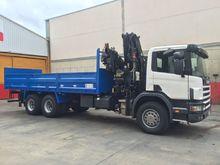 Scania 94 C truck crane HIA