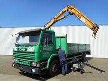 Scania P 93 220 Truck Crane