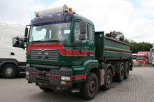 MAN TGA 35.480 8x4 Crane Truck