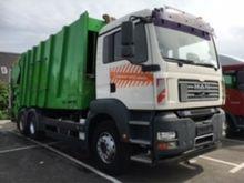 MAN TGA 26.320 6x2 FAUN Garbage