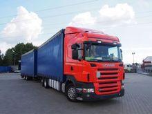 Scania R 420 Stake body