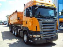 Scania R580 + Trailer Carne Tra
