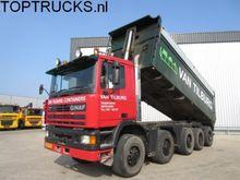 Ginaf 5450 10X8 TIPPER 24m