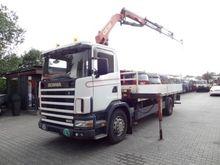 Scania R124 400 PALFINGER 1 Tru