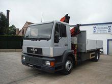 MAN 15224 Truck Crane