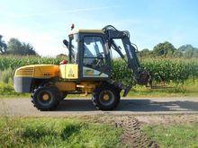 Mecalac MX12 Wheeled Excavator