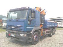 Iveco EUROTEK 240E38 Truck Cran