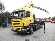 Scania R380 6x2 KRAN COPMA Trac