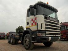 Scania R124C - 6x4 Tractor unit