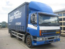 1995 DAF AE 75RS-S Stake body