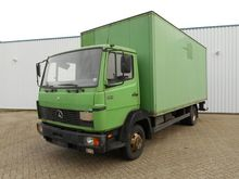 Mercedes Benz 814 Box with load