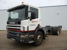 Scania P 124 360 6x2 Chassis ca