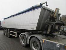 32 cbm tiptrailer Tipper