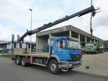 Mercedes Benz 2633 Truck Crane