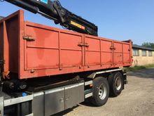 Container incl zijkleppen zware